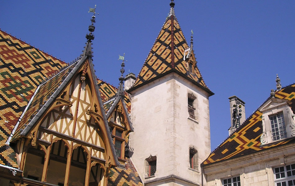 Historical monuments in Burgundy