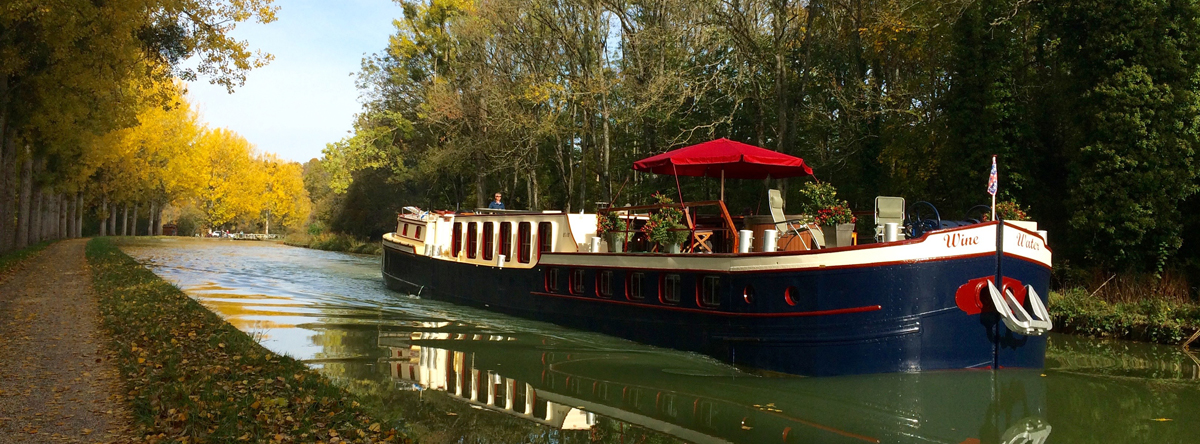 Barge holidays on the Burgundy Canal