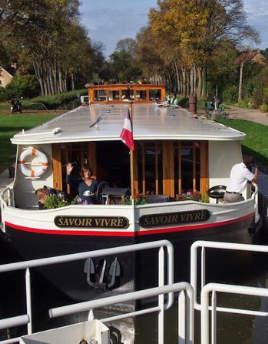 Hotel barge Savoire Vivre
