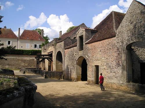 The main workshops at Buffon