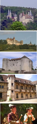 Historical monuments you can visit in Burgundy