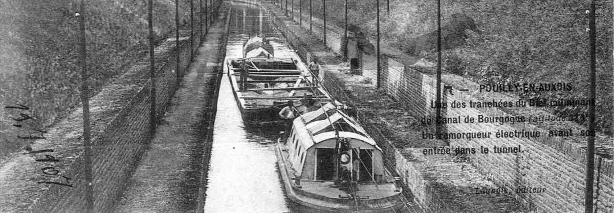 How the Canal de Bourgogne was built