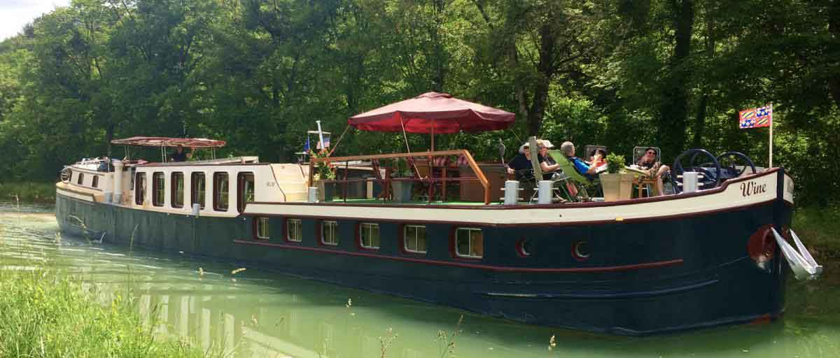 Wine & Water hotel barge cruises