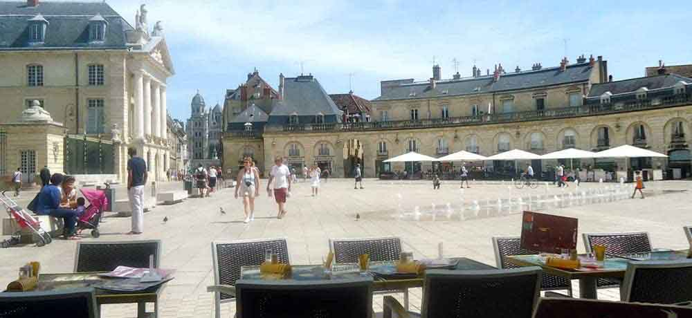 Dijon, the capital city of Burgundy