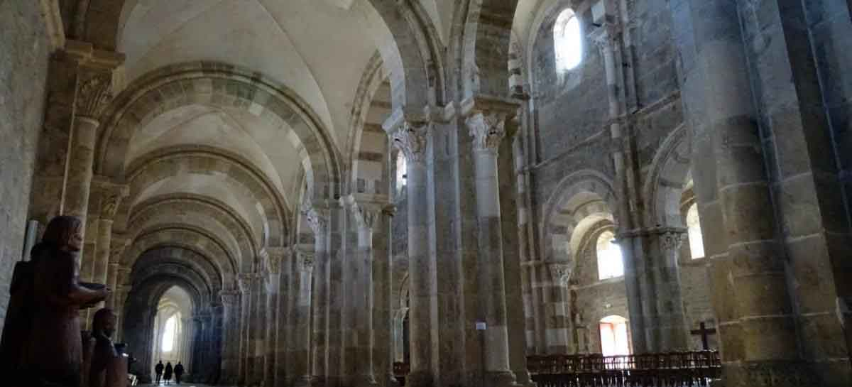 Basillica of Vezelay in Burgundy, France