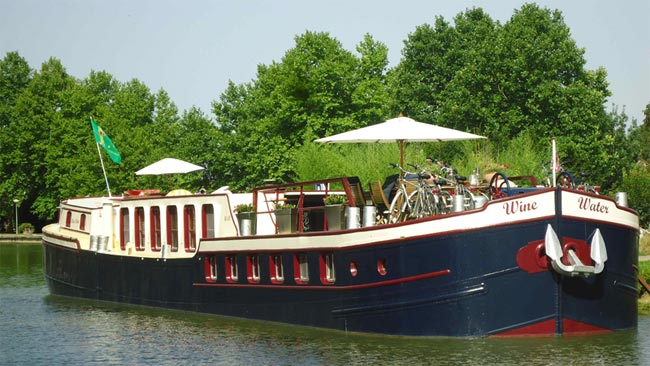 Wine and Water hotel barge