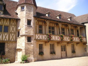 The old ducal palace in Beaune